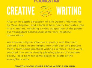 CREATIVE WRITING - Week 5 - 6- 10 years