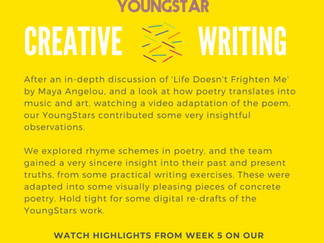 CREATIVE WRITING - Week 5 - 6- 10 years