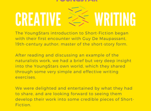 CREATIVE WRITING - Week 2 - 11-16 years