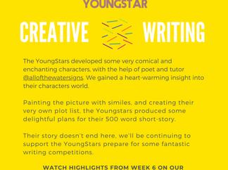 CREATIVE WRITING - Week 6 - 6-10 years