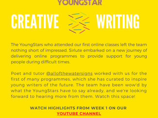 CREATIVE WRITING - Week 1-  6-10 years