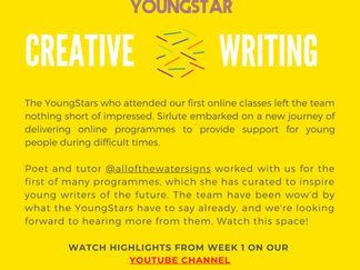 CREATIVE WRITING - Week 1-  6-10 years