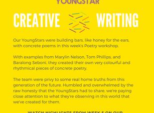 CREATIVE WRITING - Week 5 - 11-16 years