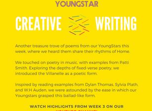 CREATIVE WRITING - Week 3 - 11-16 years
