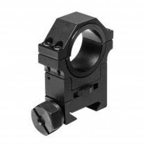 """30MM ADJUSTABLE HEIGHT OPTIC RING WITH 1"""" INSERT"""