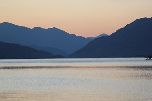Loch Lomond at Sunset Print