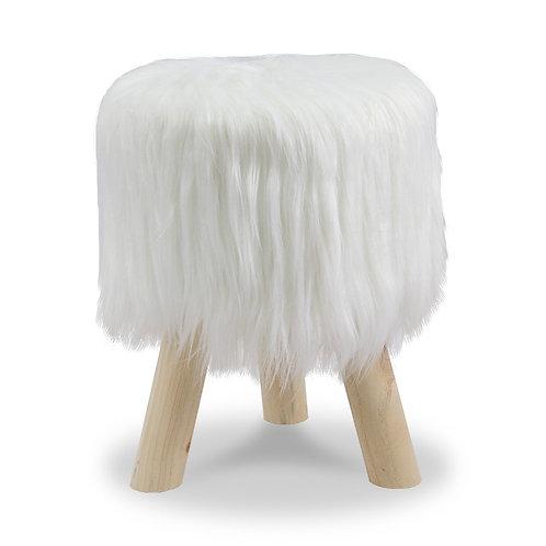Drewniany stołek  Furry1