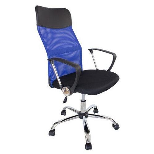 Niebieski fotel obrotowy biurowy  Boss 42