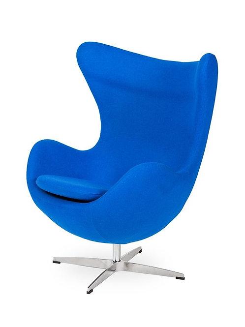 Fotel Arne Egg - Blue  Kaszmir