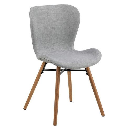 Krzesło szare tapicerowane Seul 22