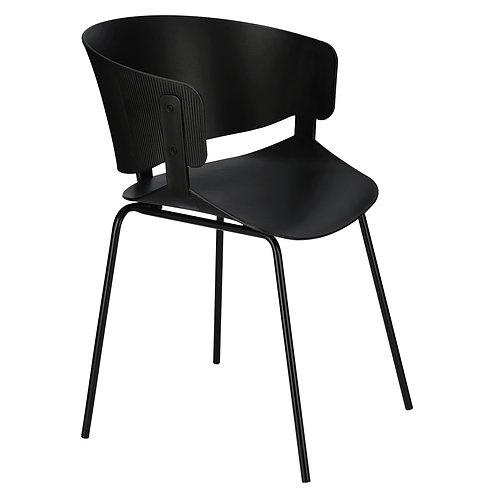 Krzesło czarne z fakturą  1