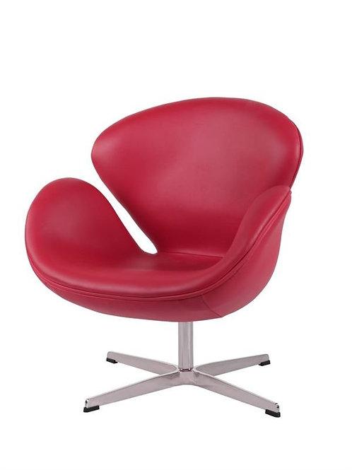 Fotel skórzany - Arne Swan