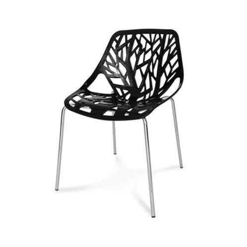 Krzesło czarne Tree II