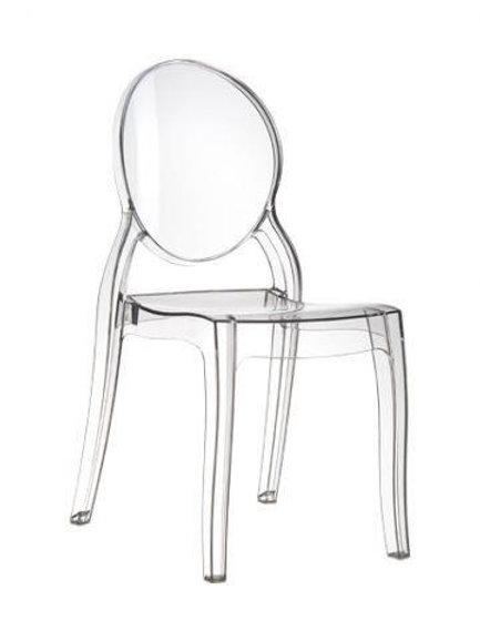 Dziecięcy fotel - Transparent Chair