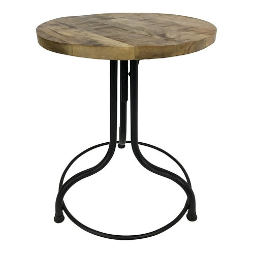 Stolik kawowy Circle - drewno