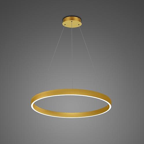 Ledowa Lampa wisząca - złota