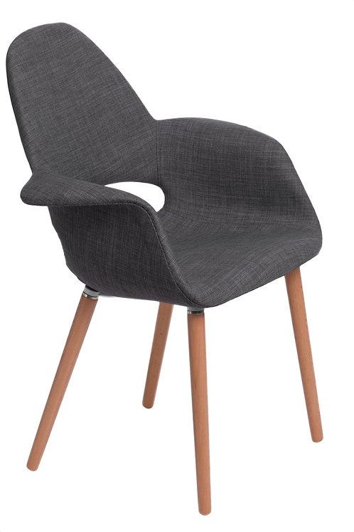 Designerskie krzesło  tapicerowane  Organic 8