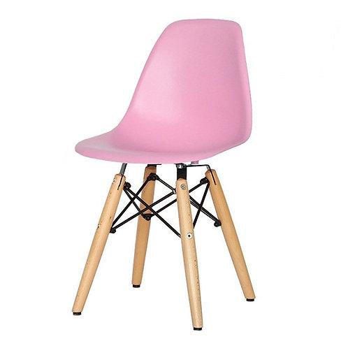 Krzesło dziecięce różowe   - Charles