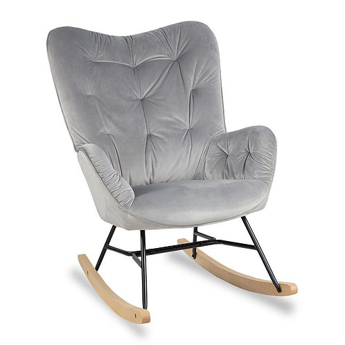 Fotel  bujany szary  Anabela 2