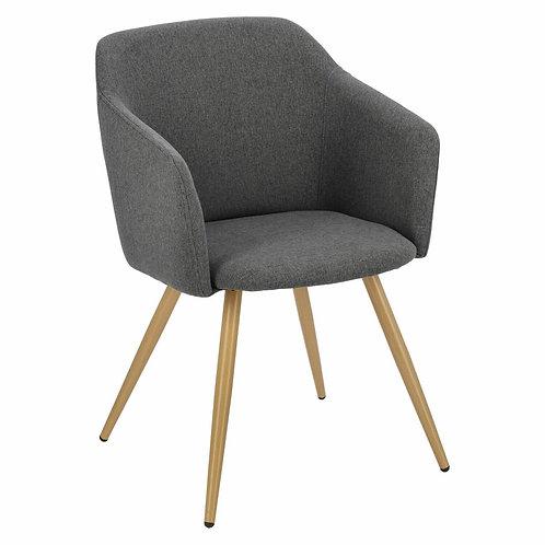 Krzesło  szare ciemne  Evander 1