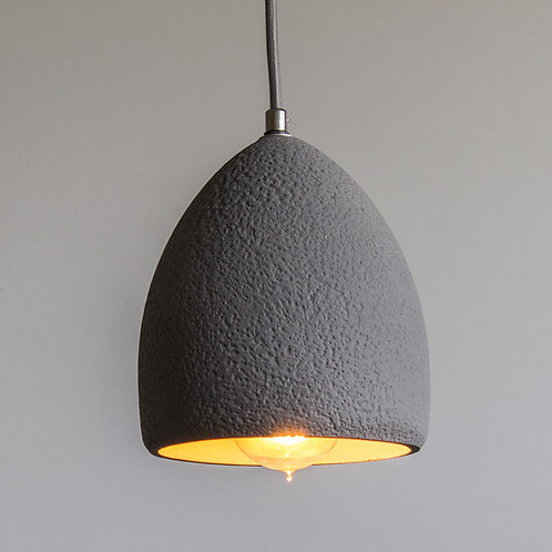 Lampa betonowa szara