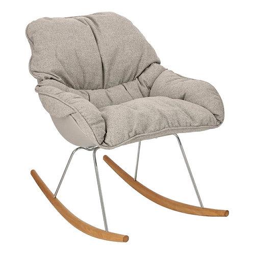 Fotel szary bujany Łucja 28