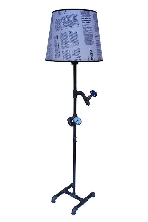 Hand made - Lampa podłogowa Loft Plumber II