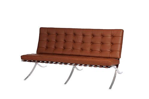 Sofa 2 osobowa Barcelona -  skóra naturalna