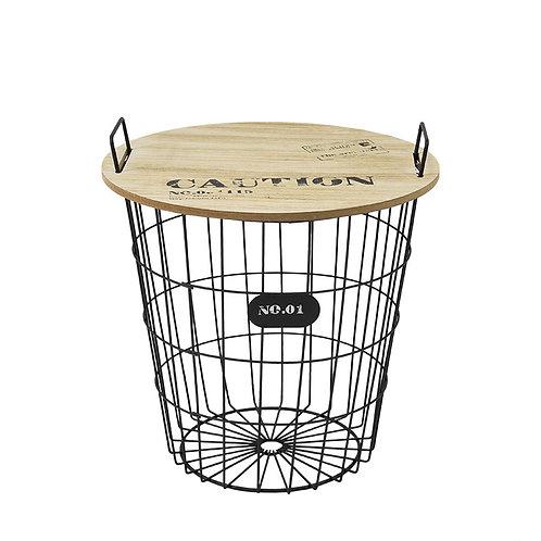 Designerski ażurowy stolik Lofti 11