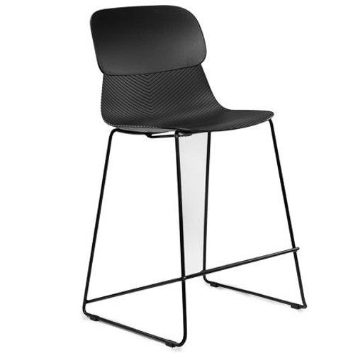 Hoker designerski czarny 65 cm   Natan 334