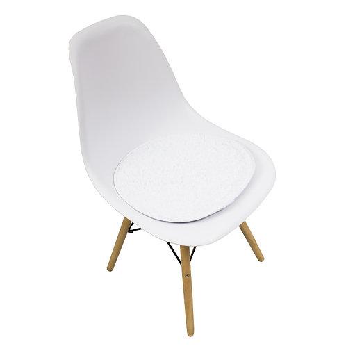 Krzesło z pluszową podkładką