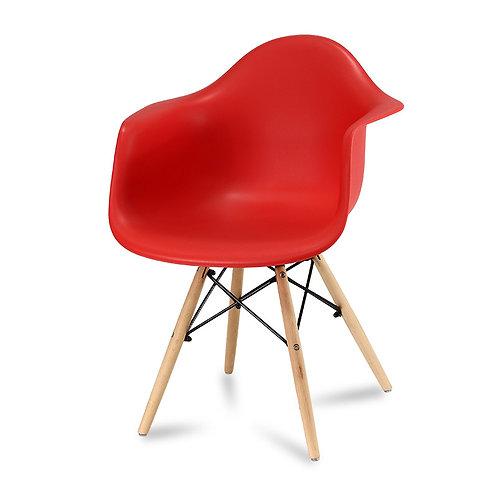 Krzesło Big Charles - czerwone