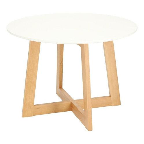 Stolik biały drewniany Kaprun