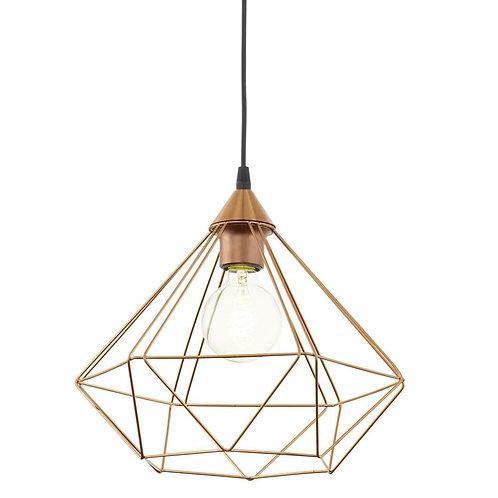 Lampa ażurowa - Copper Cage I