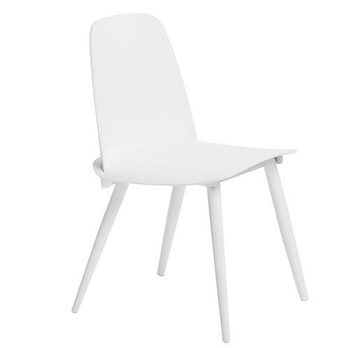 Krzesło nowoczesne białe  44