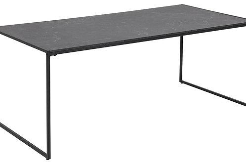 Czarny stolik kawowy  Natan 120 cm