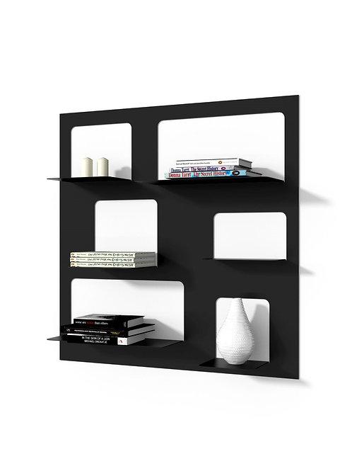 Designerska  półka - czarna  i biała
