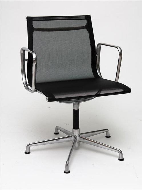 Fotel biurowy - czarna  siateczka