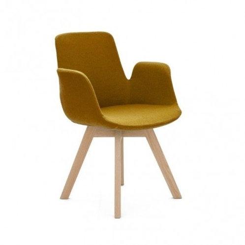 Krzesło żółte  Hilary 4