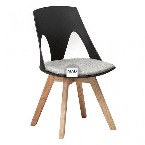 Krzesło Arnold czarne albo białe