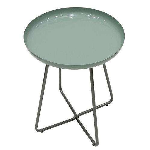 Stolik okrągły zielony  Vita 40 cm