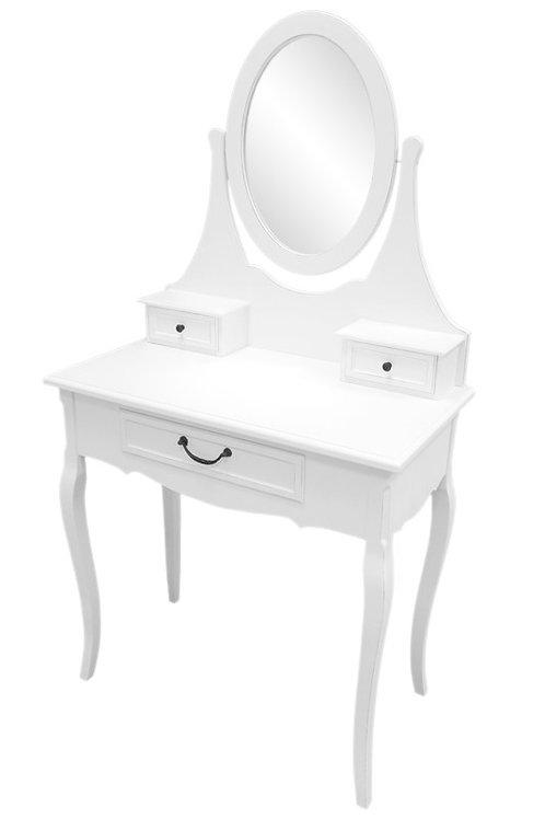 Biała toaletka Prowansalska - Madalene
