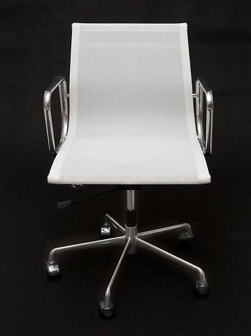 Fotel biurowy -  biała siateczka