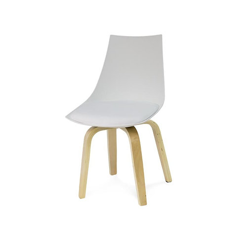 Krzesło Aron białe