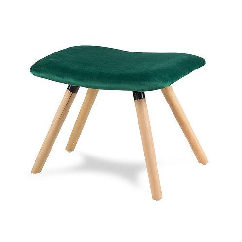 Podnóżek do fotela uszaka  zielony  Lord 212