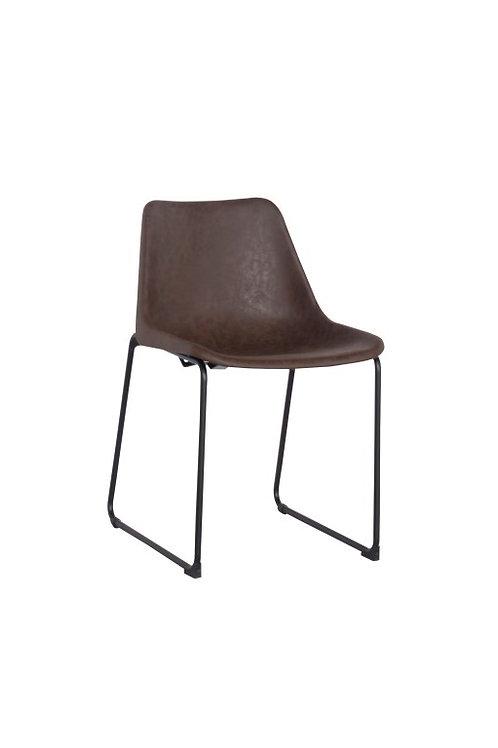 Krzesło  Vintage brązowe