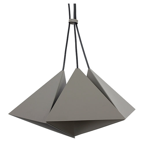 Metalowa lampa wisząca - 3 Triangles