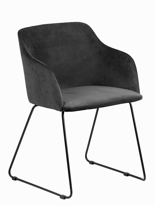 Krzesło Klaudia 28  Anthracite/Black