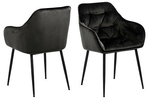 Krzesło  Pensylwania Grey/Brown