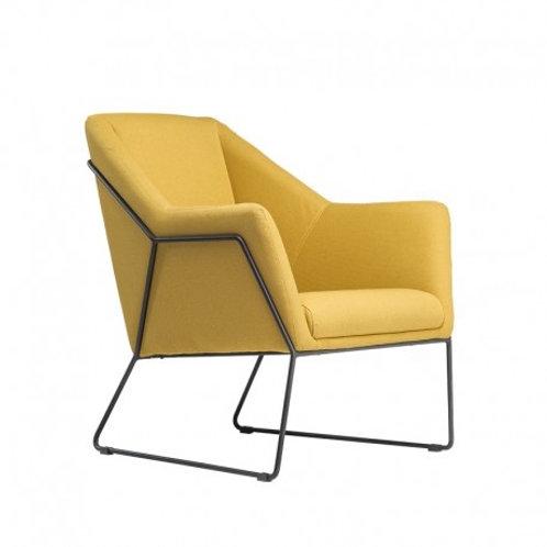 Fotel żółty  SUN